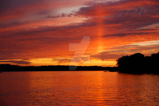 Gull Lake Sunset I