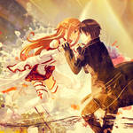 Asuna and Kirito - Sword Art Online