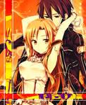 Asuna and Kirito 2 - Sword Art Online