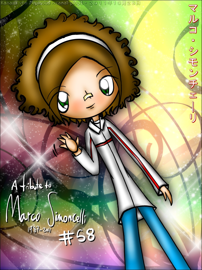 A tribute to Marco Simoncelli by kanaruaizawa16