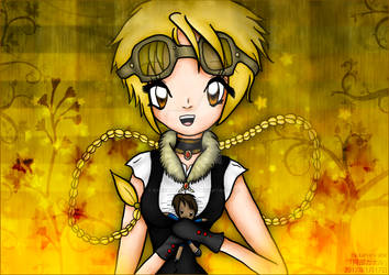 Clarice ~ Steampunk ~ Quintana plushie