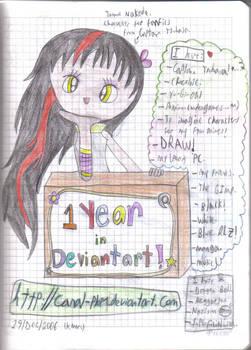 1st year in DA - Tomoe