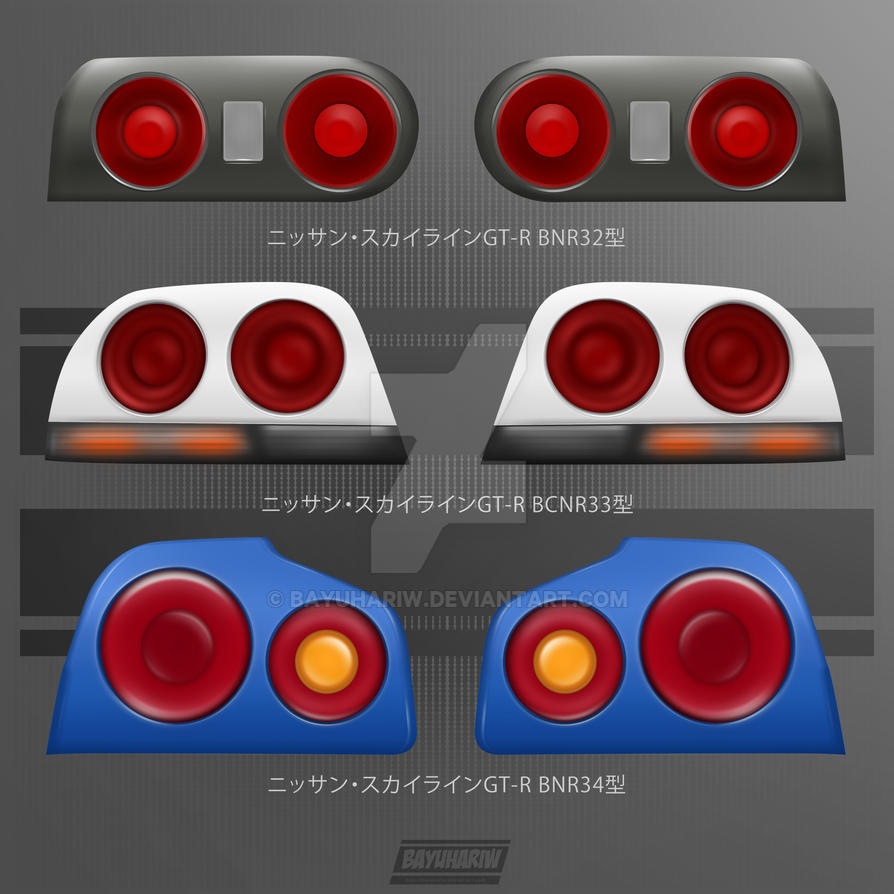 Nissan Skyline All Generations: The Generations Of Nissan Skyline GTR By Bayuhariw On