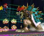 Super Mario Vs Giga Bowser