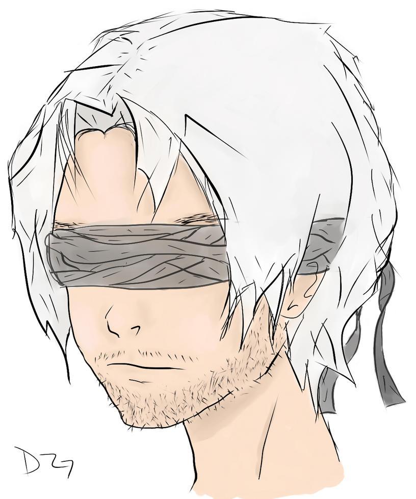 Blind Samurai by Mizore--Shirayuki