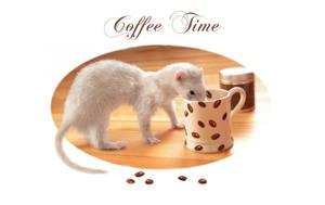 Coffee Time II by Yukkabelle