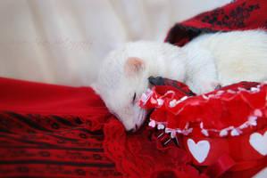 My Sleeping Valentine by Yukkabelle