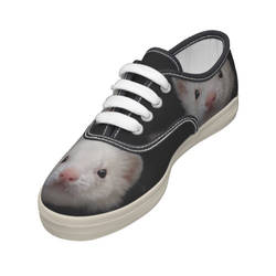 Little fangs - Ferret shoe for kid - by Yukkabelle