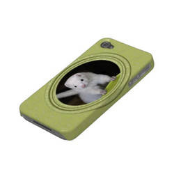 Spring - Ferret iPhone case - side view - by Yukkabelle