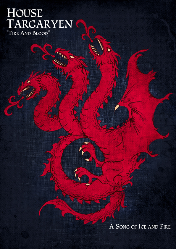 House Targaryen By UrukkiSaki ...