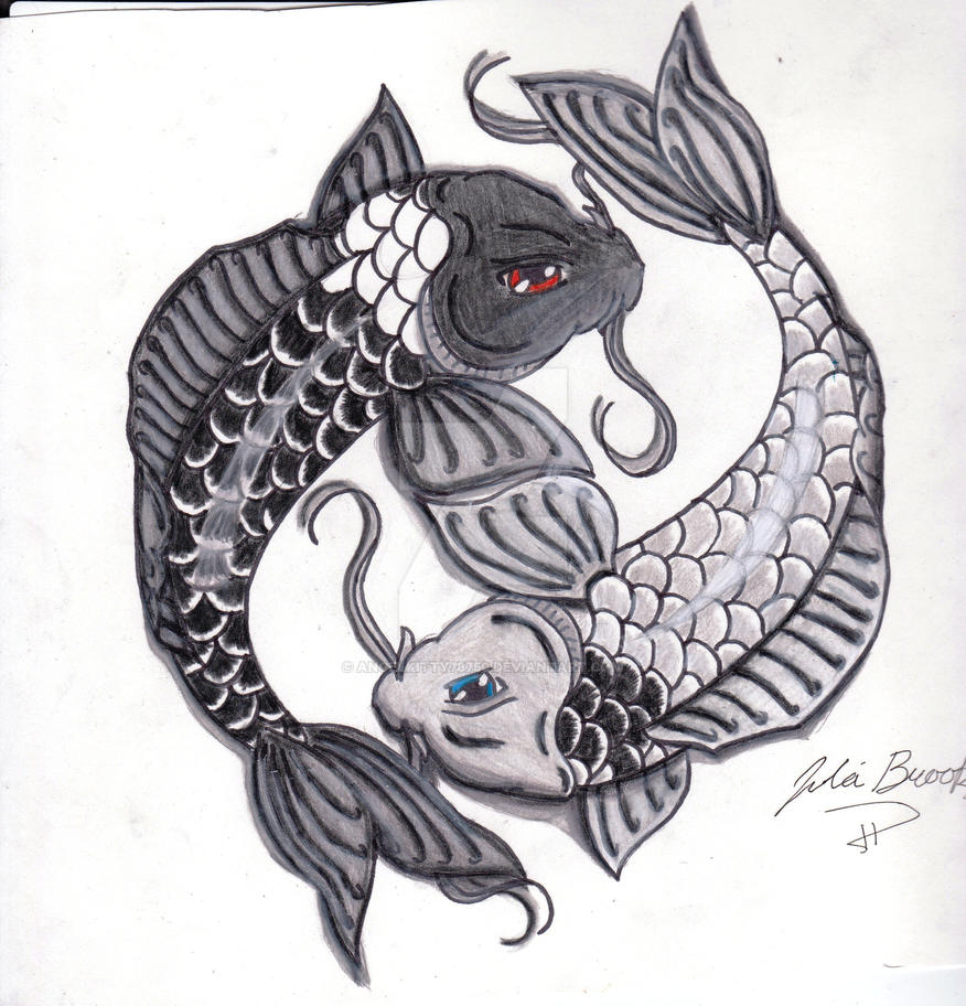 Yin and yang koi fish by angelkitty78750 on deviantart yin and yang koi fish by angelkitty78750 publicscrutiny Image collections