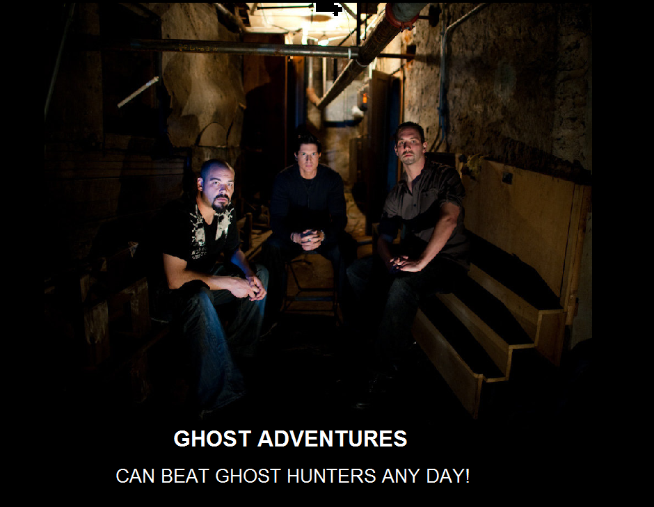 ghost adventures ghost hunters