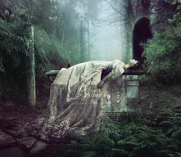 Sleep of Stone by Brumae-Art