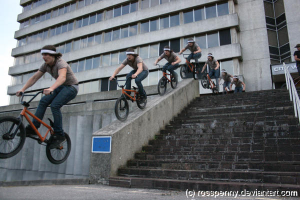 Tom Bruza - Rail Ride Sequence by rosspenny