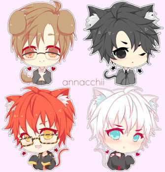 Mystic Messenger : The rest of the gang!