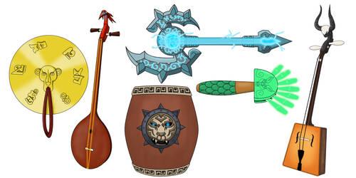 Pandaria's Instruments