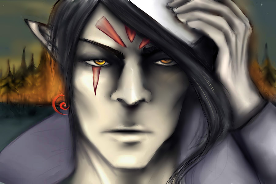 He who wears the mask by Ilman-Lintu