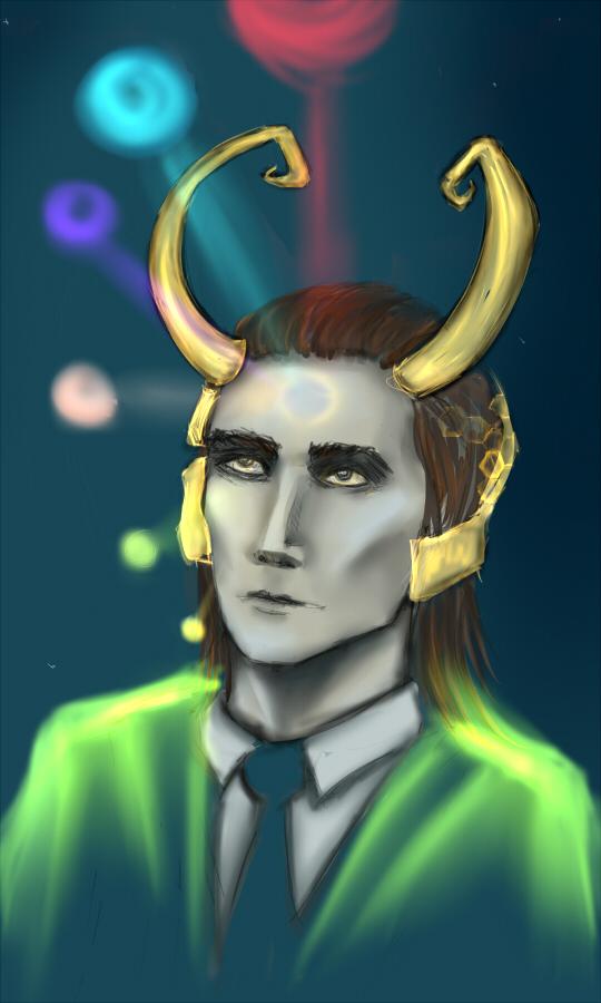 Loki by Ilman-Lintu