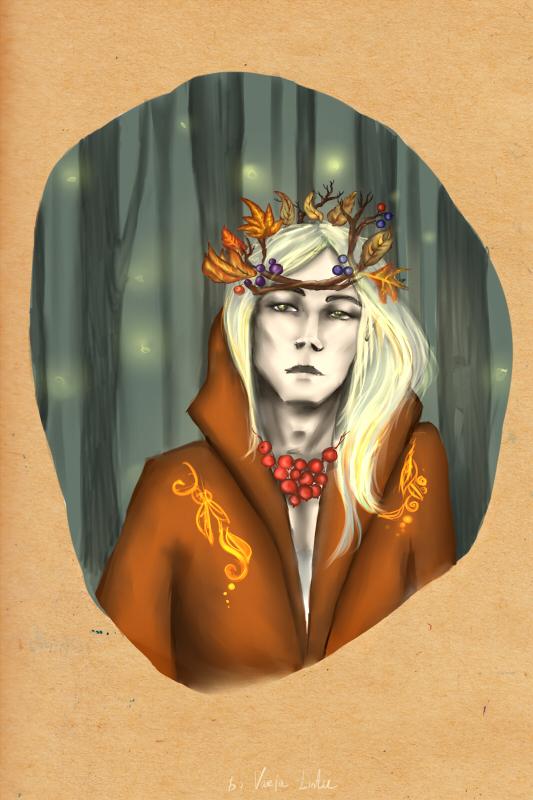 Thranduil - The Autumn King by Ilman-Lintu