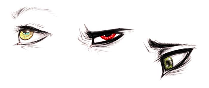 eyes by T-h-E--J-o-K-e-R