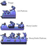 Blue Moon heavy units