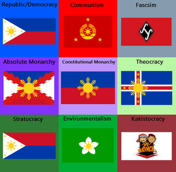 Rebooted Flag Ideology - Philippines by JackMcFord