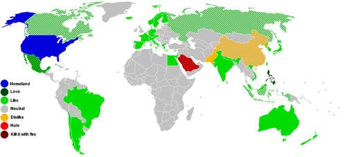 World Map Opinion Meme