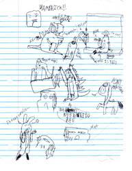 Some more random sketches