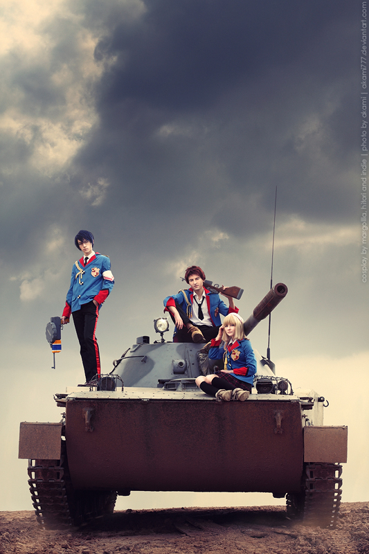 This is war! by MargoIIIa