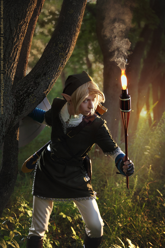 I'll find you Zelda by MargoIIIa