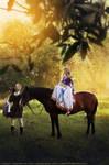 Walk on horseback