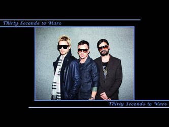 30 Seconds to Mars Wall 307 by martiansoldier