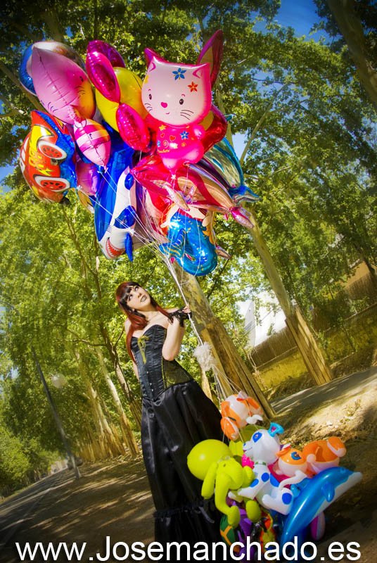 Leonor ballons by josemanchado