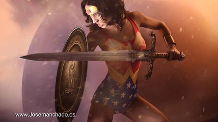 Wonder Woman Linda Carter Cosplay