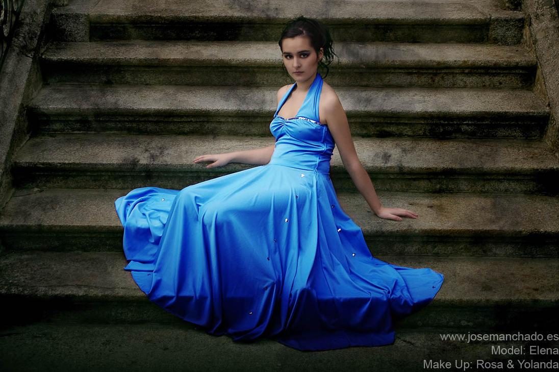 Elena - stairs by josemanchado