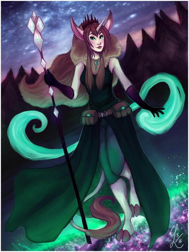 Unicorn magic by PedigreeUnicorn