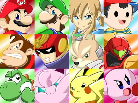 Super Smash Bros Original 12