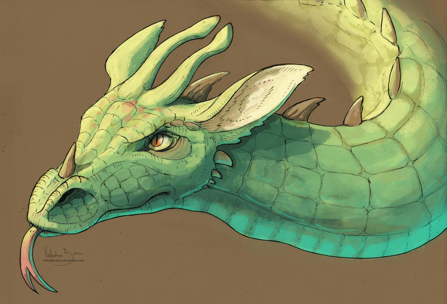 Dragon portrait - Toothless by Nimphradora
