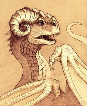 Dragon portrait - Denali by Nimphradora