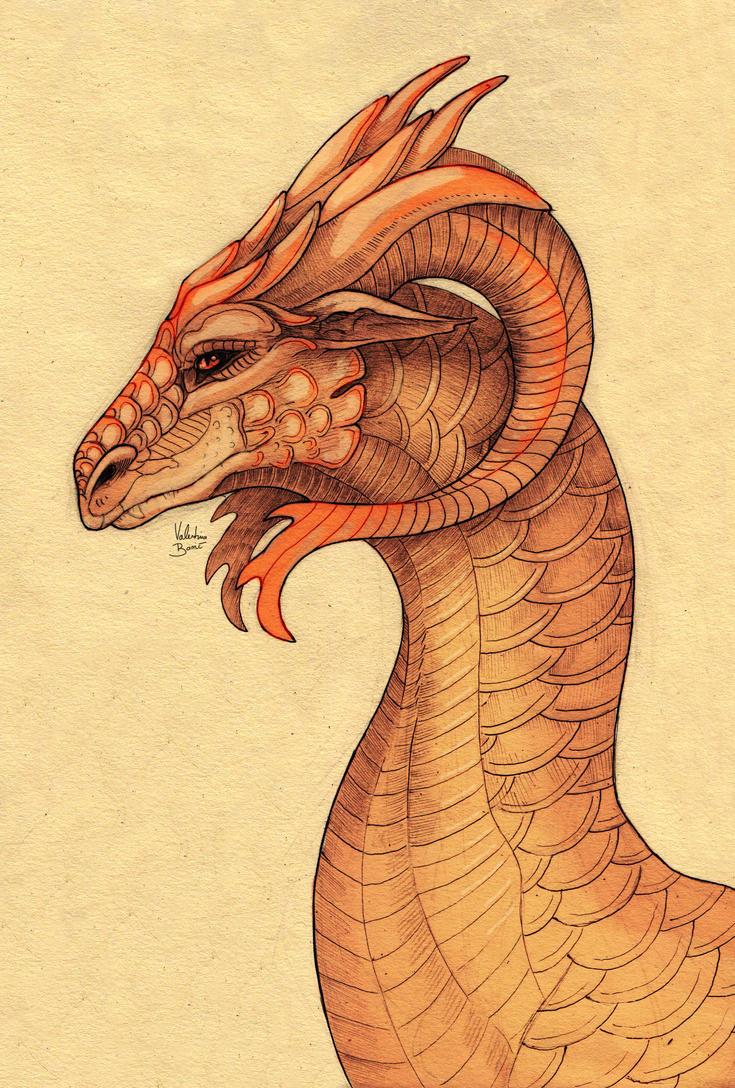Dragon portrait: Ondeth by Nimphradora