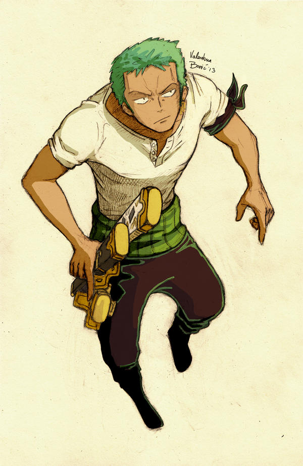 zoro by nimphradora on deviantart