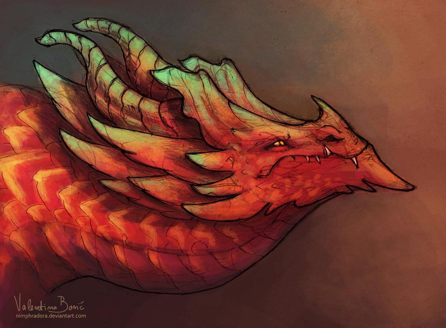 I bring you fire by Nimphradora