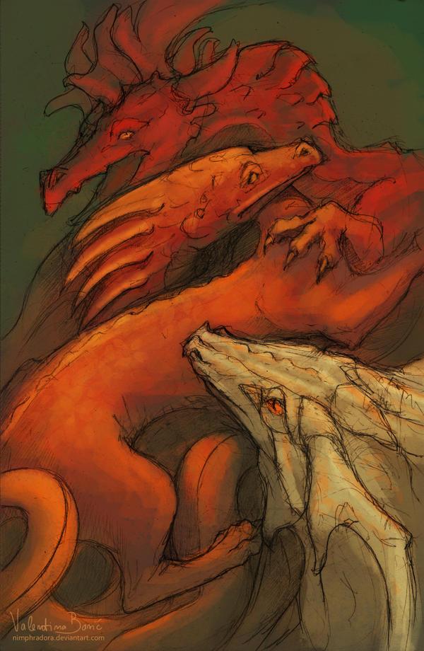Pile of dragons by Nimphradora