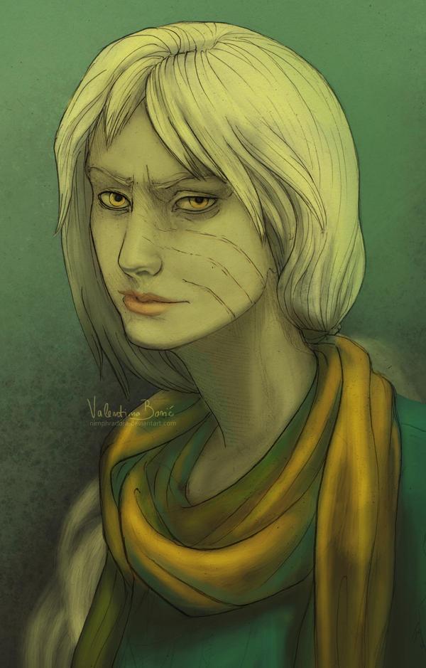 portraut by Nimphradora