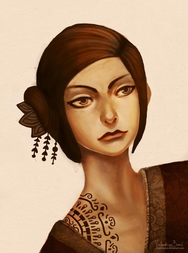 Pretty lady by Nimphradora