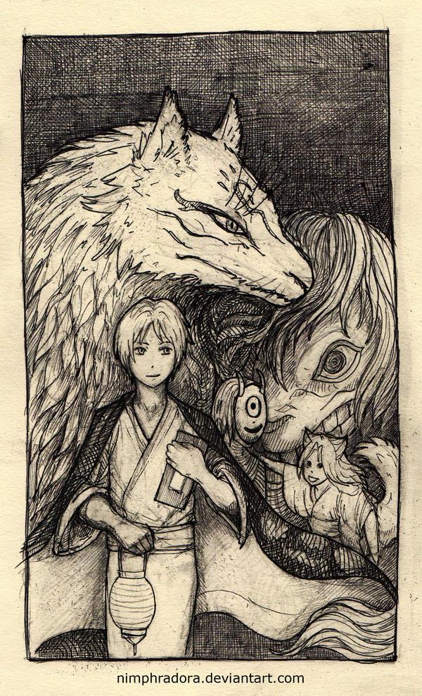 Natsume Yuujinchou by Nimphradora