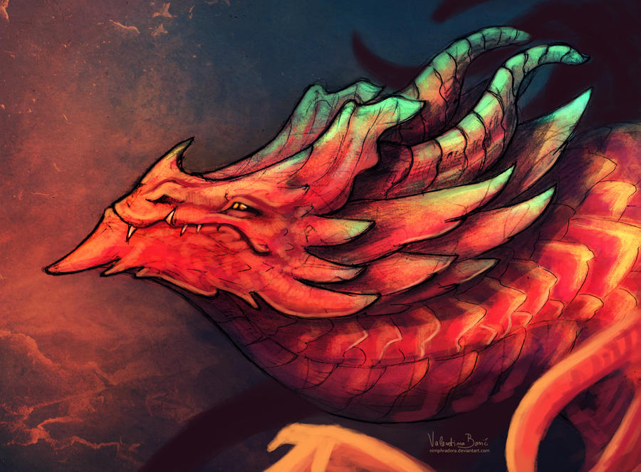 I bring you fire - repainted by Nimphradora