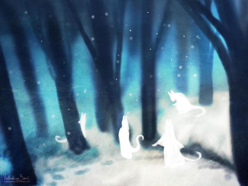 Snow spirits by Nimphradora