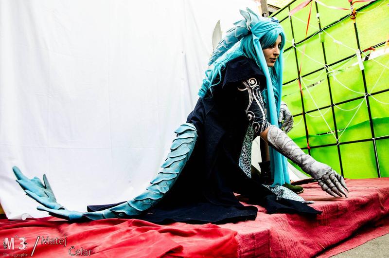 Blue dragon by Nimphradora