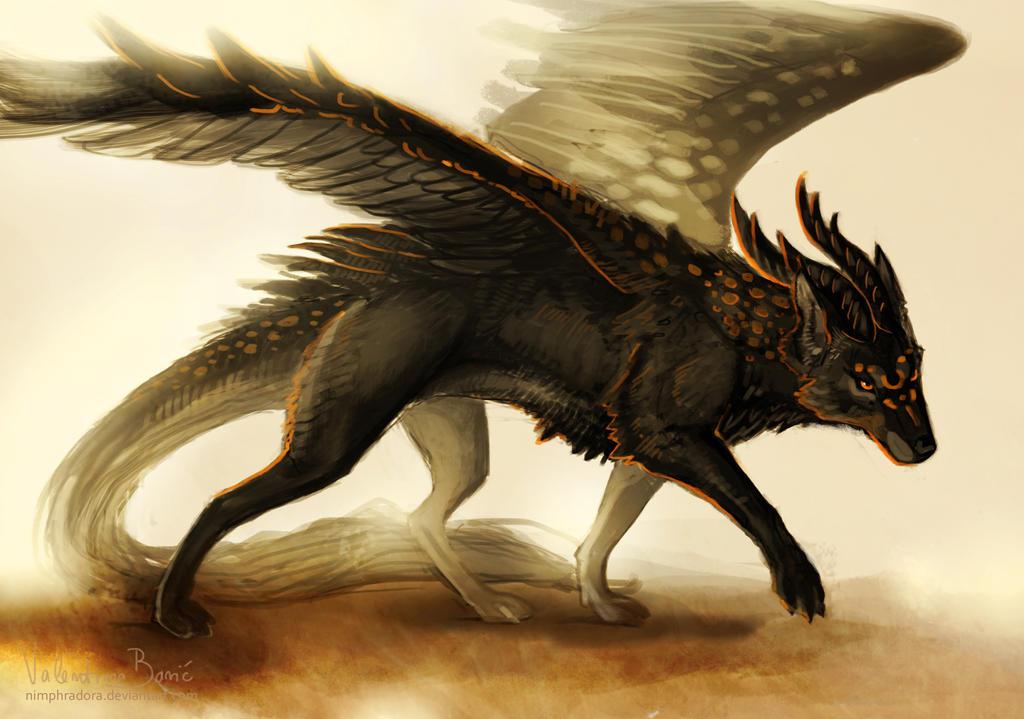 Creature commission by Nimphradora